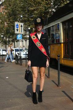 Milan Fashion Week - Chiara Ferragni Milan Fashion, Fashion Trends, Street Fashion, Style Snaps, Spring Street Style, Spring 2014, Jet Set, Moschino, Harajuku