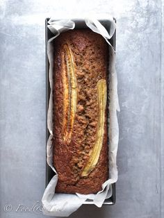 """A few overripe bananas sitting on the countertop was the nudge needed to finally get around to trying a recipe from Donna Hays """"Basic to Brilliance"""" cookbook. I've had this cookbo… Banana Bread Ingredients, Banana Bread Recipes, Cake Recipes, Healthy Cake, Healthy Recipes, Healthy Food, Donna Hay Recipes, Family Cake, Baked Banana"""