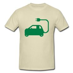 NEV Electric Car Symbol T-Shirt   Spreadshirt   ID: 11222379