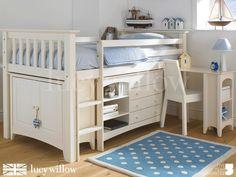 Luxury Kids Cabin Bed | Childrens Bedroom Furniture UK