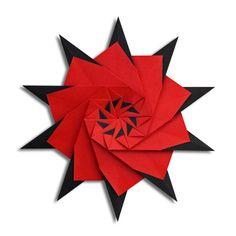 "Origami Star ""74″ (Francesco Mancini)   EZ Origami"