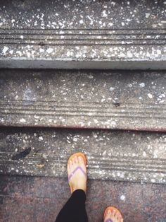 my first steps towards the top of the world.