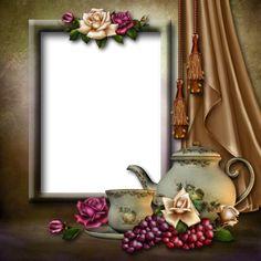 Transparent Art PNG Frame