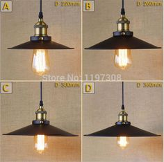 Wrought Iron Vintage Antique Gold KTV Bar Clothing Store Stairs Industrial  Style Pendant Lights Retro Hanging