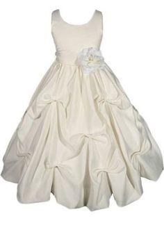 AMJ Dresses Inc Girls 2 to 10 Flower Girl Communion Easter Dress (10 Colors):Sale:$39.99