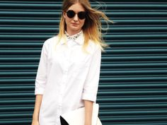 Button downs How To Wear Shirt, 2014 Trends, Spring 2014, 5 Ways, Button Downs, Your Hair, White Dress, Street Style, Outfit Ideas