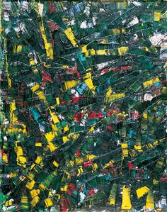 Jean Paul Riopelle, Hour of suffering, 1953, huile sur toile, 91,5 x 73,7 cm