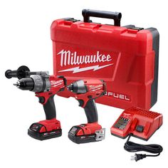 Milwaukee M18 Fuel Lithium-Ion 2-Tool Combo Kit Brushless Drills / Impact drivers