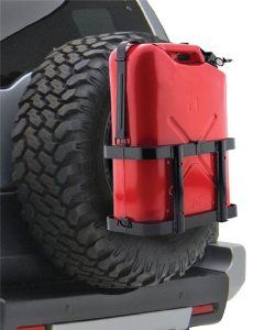 Smittybilt 2798 Jerry Gas Can Holder Jeep Mods, Truck Mods, Jeep Tj, Jeep Wrangler Renegade, Jeep Wrangler Unlimited, Wrangler Jeep, Fj Cruiser Mods, Toyota Fj Cruiser, Expedition Trailer