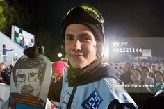 News Photo : The snowboarder Sven Thorgren of Sweden during...