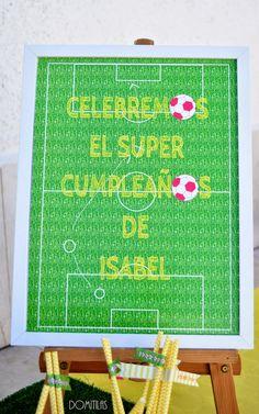 Un cumpleaños futbolístico muy especial. Ideas Decoracion Cumpleaños, Ideas Para Fiestas, Soccer Kits, Carnival, Baby Shower, Birthday, Diy, Barcelona, River