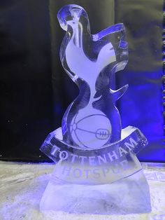 Corporate ice sculptures for your companies themed event, ideal for promotions, product launches and of course your Christmas party.