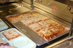 Old School Lunch Pizza | School Pizza; this use to be some of the best pizza in school. i'm craving it right now.