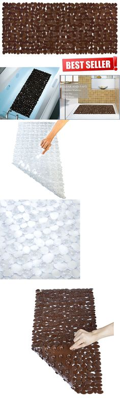 Bathmats Rugs And Toilet Covers 133696 Extra Long Bath Mat Non Slip Anti Bacterial Stone