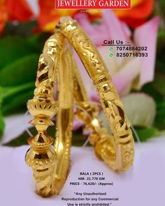 Indian Jewelry Earrings, India Jewelry, Gold Jewellery, Jewelery, Fine Jewelry, Gold Bangles Design, Gold Earrings Designs, Gold Pendants For Men, Bengali Bridal Makeup