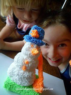 świat według moich dzieci Crochet Earrings