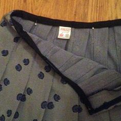 DIY fashion fix - how to take in the waistband of a skirt - step 2 - even points - elastic smaller waist - handbag.com
