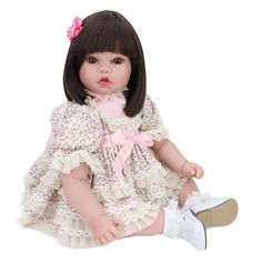 Angeles Reborn sell affordable price Lifelike Baby Dolls that Look Alive for Kids,buy it here. Baby Dolls For Kids, Real Life Baby Dolls, Reborn Toddler Dolls, Newborn Baby Dolls, Reborn Baby Girl, Baby Girl Dolls, Child Doll, Reborn Babies, Kids Dolls