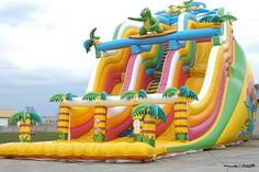@>>  Inflatable slide inflatable bouncer inflatable trampoline inflatable…
