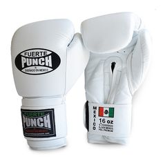 Mexican Fuerte Elite Boxing Gloves - 16 oz - Punch® Equipment