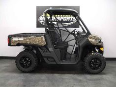 New 2016 Can-Am Defender XT HD8 Mossy Oak Break-up Count ATVs For Sale in Tennessee. 2016 Can-Am Defender XT HD8 Mossy Oak Break-up Country Camo, For special internet pricing, contact Hayden at 423.839.3370 or 2016 Can-Am® Defender XT HD8 Mossy Oak Break-up Country Camo READY TO TAKE ON THE JOB Equipped with many factory-installed accessories including 27 in. Maxxis Bighorn 2.0 tires, 14 in. wheels, Dynamic Power Steering, roof and much more. Features may include: HEAVY-DUTY ROTAX V-TWIN…