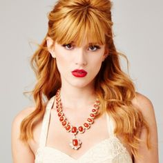 Bella Thorne at first I thought she was a grown women in this picture