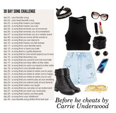 """""""Day 20 a song I listen to when I'm angry: Before he cheats by Carrie Underwood"""" by grace-buerklin ❤ liked on Polyvore featuring New Look, T By Alexander Wang, Philosophy di Lorenzo Serafini, Gucci, Chanel, Saachi, Irene Neuwirth, Samsung, Fallon and 30daysongchallenge"""