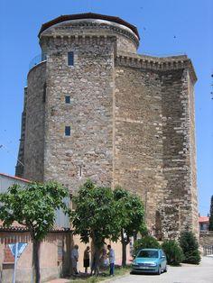 Alba de Tormes, Torre del Homenaje del Castillo de los Duques de Alba, Provincia de Salamanca, España
