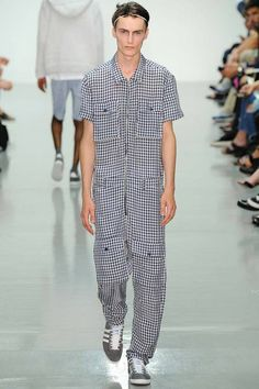 JUMPSUIT!  Richard Nicoll | Spring 2015 Menswear Collection | Style.com