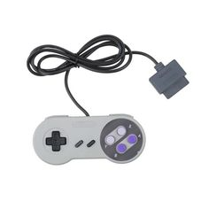 Gaming 16 Bit Controller Gamepad Joystick for Super Nintendo SNES System Console Control Pad