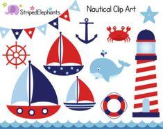 Nautical Clip Art Nautical Digital Anchor Clipart Nautical