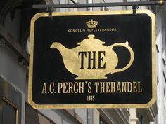 Tea shop in Copenhagne
