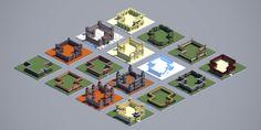 16 Minecraft Wall Ideas | World-o-Walls