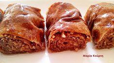 Συνταγές για διαβητικούς και δίαιτα: Μπακλαβαδάκια ολικής με στεβια !!