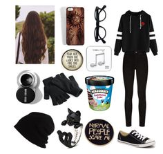 Untitled #58 by my-chemicalphan on Polyvore featuring polyvore, fashion, style, Paige Denim, Converse, SCHA and clothing