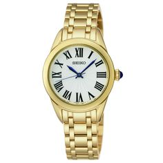 Seiko ladies' gold-plated bracelet watch £209 Fraser Hart