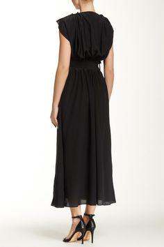 Image of L.A.M.B. Bianca Silk Maxi Dress