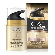 Shop Olay Total Effects Moisturizer   Gradual Sunless Tanner, a daily all-in-one moisturizer