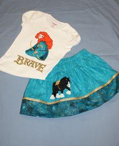 Custom Princess Merida from Disney Brave by OoDeeLallyDesigns