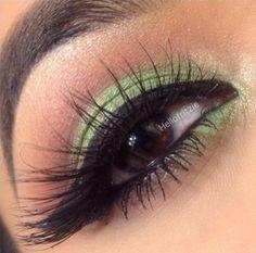 A Subtle Green by @Fritzie Torres of our #SERENA #FlutterLashes