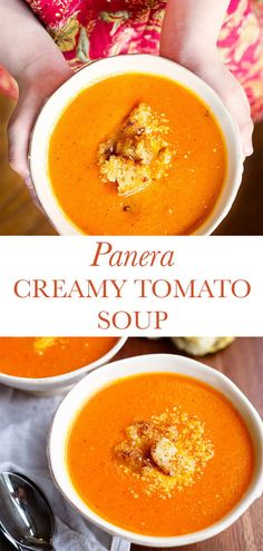 Tomato Bisque Soup, Cream Of Tomato Soup, Tomato Soup Recipes, Cooking Recipes, Healthy Recipes, Instant Pot Dinner Recipes, Homemade Soup, Pressure Cooker Recipes, Soup And Salad