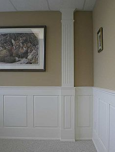 Interior Column Ideas faux interior columns | half column design ideas, pictures