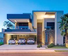 Boa noite queridossss!!! Casa dos sonhos né mores Arquitetura por Dalber Aguero Foto Fellipe Lima Arrasaram . Sigam…
