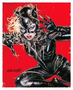 Catwoman by Olivia De Berardinis