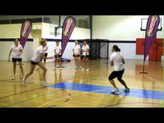 Norma Plummers Netball Drills -- Defence
