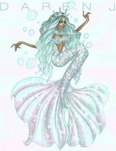 Mermaid Collection by Daren J