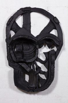 Thomas Houseago  Gorgon mask 2015
