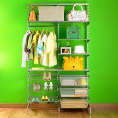 The Container Store > Platinum elfa freestanding Clothes Closet