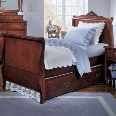 Young America Madison Collection Twin Sleigh Bed By Stanley Furniture