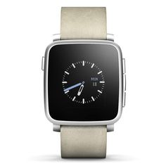 Smartwatch Pebble Time Steel plata #fitness #health #sports